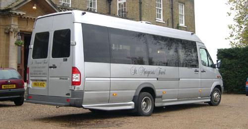 Minibus hire and coach hire - Minibus - derby minibus company
